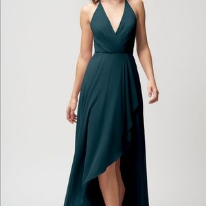 Jenny Yoo Farrah Chiffon Dress